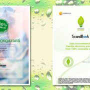 ScandBook goes green